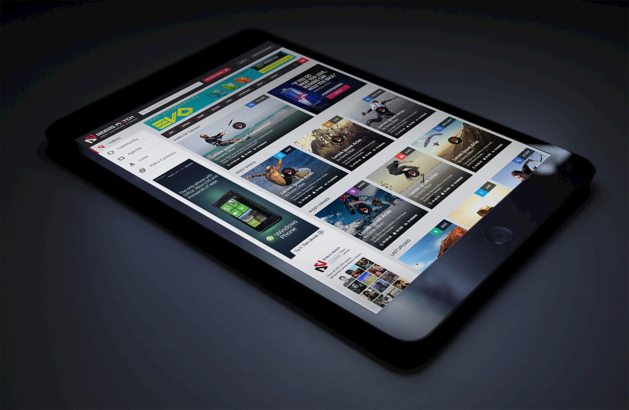 iPad MockUp GloomySunday1
